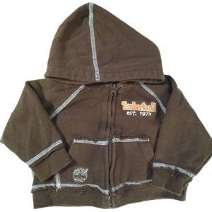 Timberland Sweat Jacket Infants 6-9M Zip-Up Hoodie
